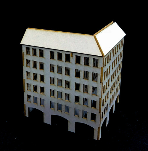 6mm City Building (2 per kit) - 285CSS074