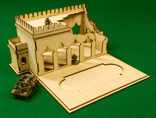 28mm Ruined Temple (MDF) - 28MMDF160-BA2
