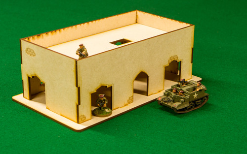 Middle East One Story Building - 28MMDF015-R