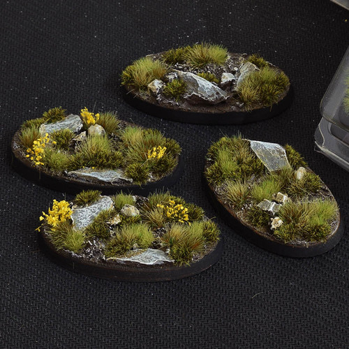 Battle Ready Bases: Highland Oval 60mm (x4)