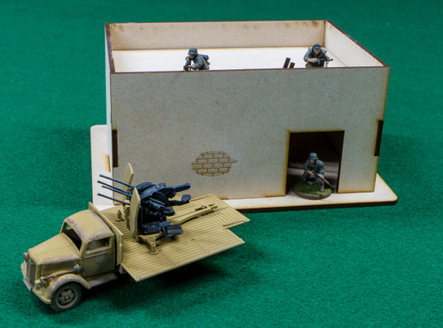 Middle East One Story Building - 28MMDF010-R