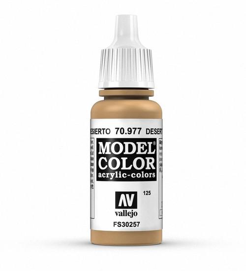 Vallejo Model Color: Desert Yellow