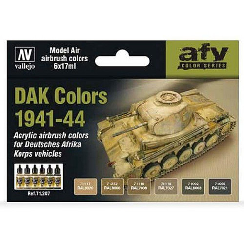 Model Air Set: DAK Colors 1941-1944 (6)