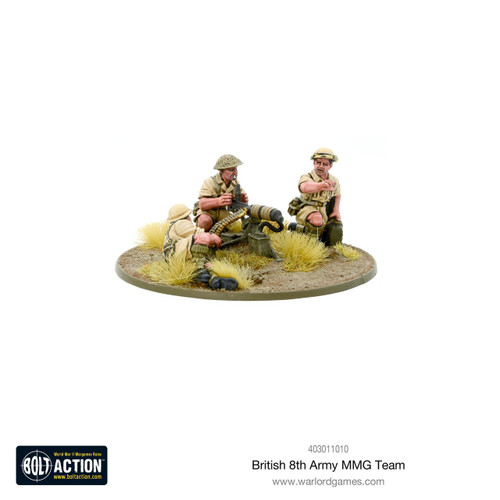 Bolt Action: 8th Army MMG Team