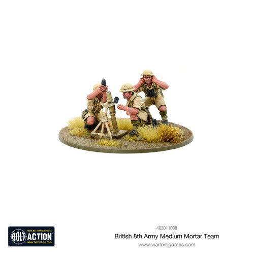 Bolt Action: 8th Army Medium Mortar Team