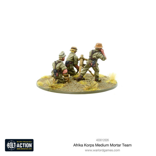 Bolt Action: Afrika Korps Medium Mortar Team