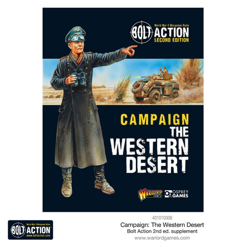 Bolt Action: Western Desert Campaign Book