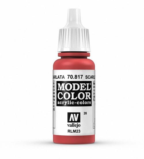 Vallejo Model Color: Scarlet
