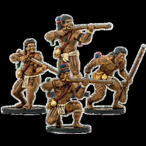 Blood & Plunder: Native American Warrior Musketeers Unit