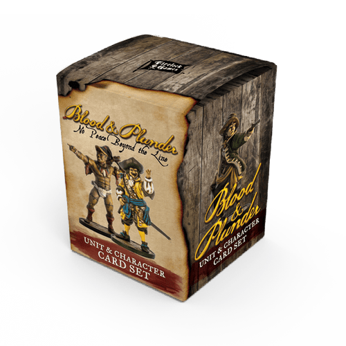 Blood & Plunder: No Peace Beyond the Line Unit & Character Card Set