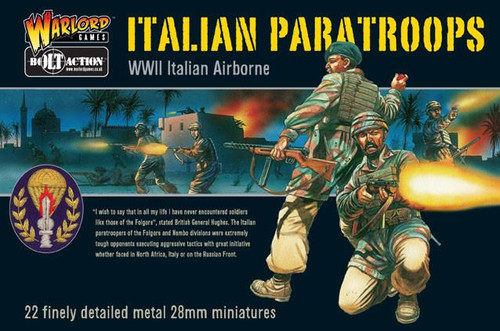 Bolt Action: Italian Paratroopers