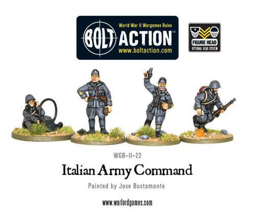 Bolt Action: Italian Command (HQ)