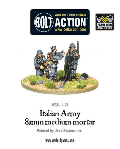 Bolt Action: Italian 81mm (Medium) Mortar