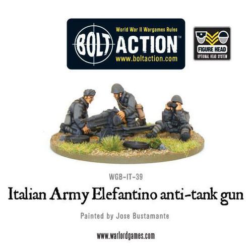 Bolt Action: Italian 47mm Elefantino Anti-Tank Gun