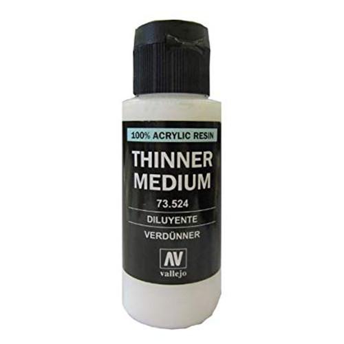 Vallejo: Thinner Medium (60ml)