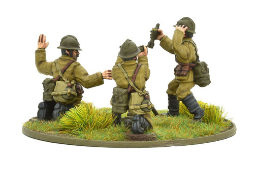 Bolt Action: Belgian Army Medium Mortar Team