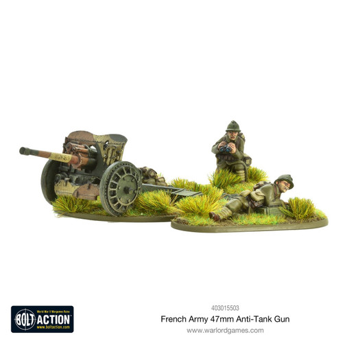 Bolt Action: French Army 47mm Medium Anti-Tank Gun