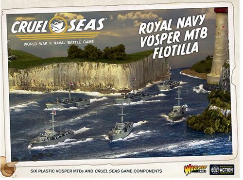Cruel Seas: Royal Navy Vosper MTB Flotilla
