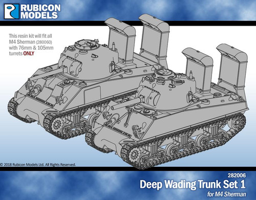 Deep Wading Trunk Set 1 - M4 - Resin