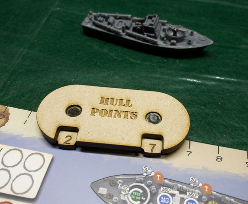 Cruel Seas Hull Points Marker