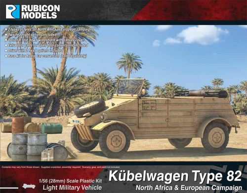 Rubicon Models Kubelwagen Type 82