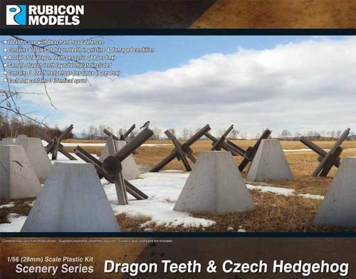 Rubicon Models Dragon Teeth & Czech Hedgehog