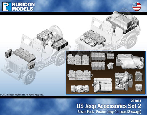 Rubicon Models US Jeep Accessories Set 2