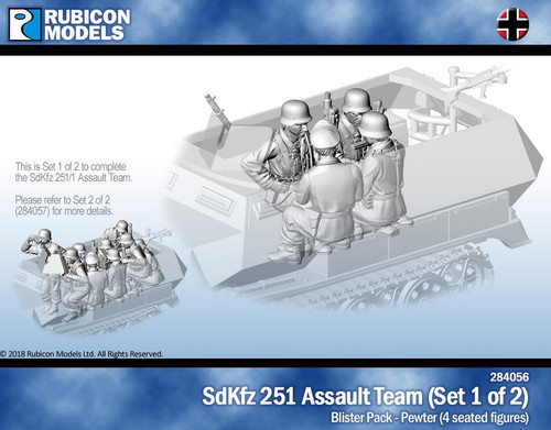 Rubicon Models SdKfz251/1 Assault Team Set 1