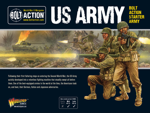 Bolt Action: US American Starter Army (NEW)
