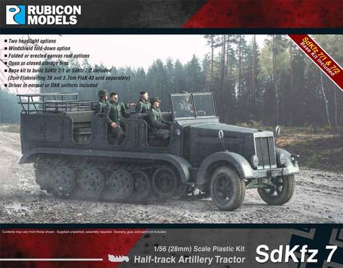 Rubicon Models SdKfz 7 Halftrack