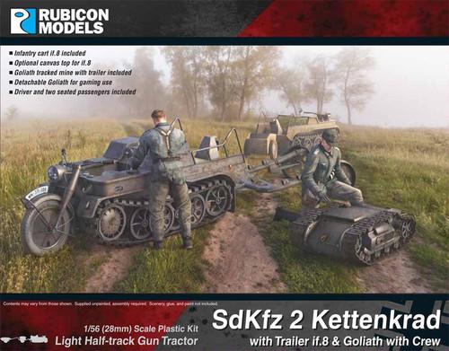Rubicon Models Sdkfz 2 Kettenkrad