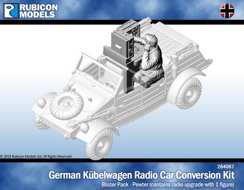 Rubicon Models Kubelwagen Radio Car Conversion with Crew- Pewter