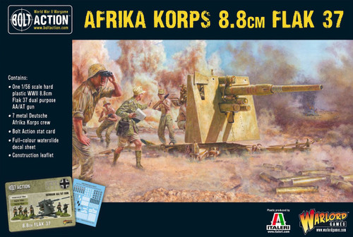 Bolt Action: Afrika Korps 8.8cm Flak 37