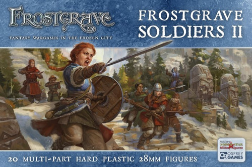 Frostgrave Female Soldier Set