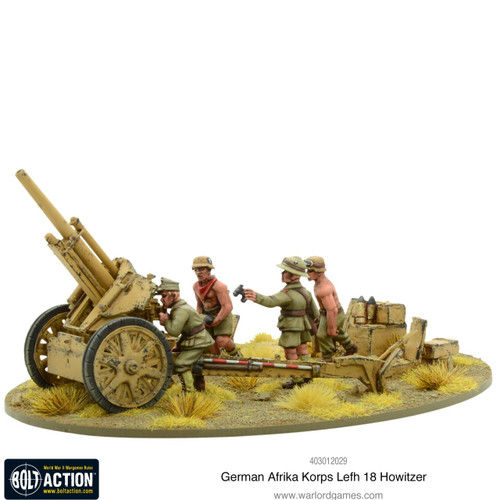 Bolt Action: Afrika Korps LeFH 18 10.5cm Medium Artillery