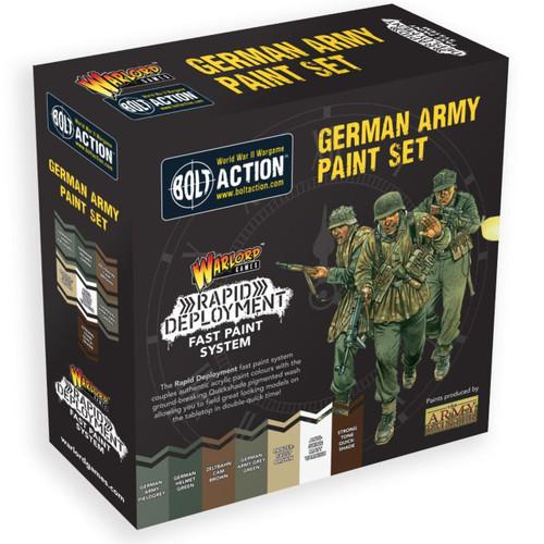 Bolt Action German Paint Set