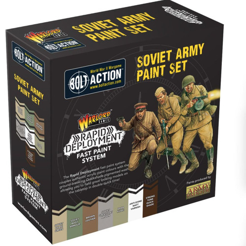 Bolt Action Soviet Paint Set