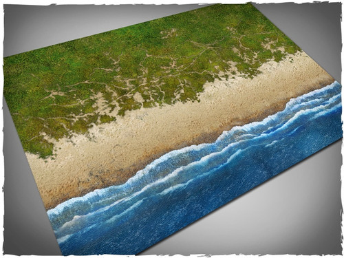 Game mat - Beach - Cloth, 4x6