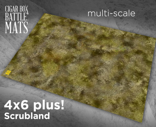 Battle Mat - Scrubland