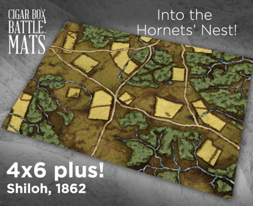 Battle Mat - Shiloh - The Hornets Nest