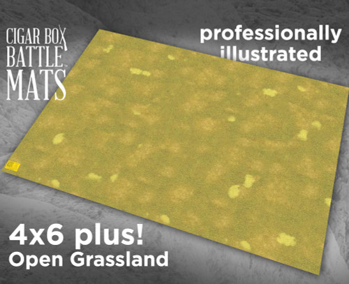 Battle Mat - Open Grassland