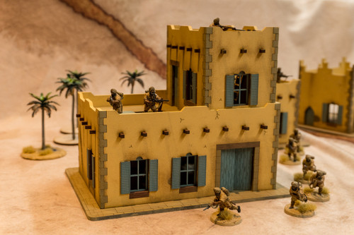 28mm Middle Eastern Building - 28MMDF091