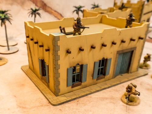 28mm Middle Eastern Building - 28MMDF093