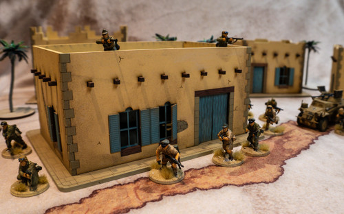 28mm Middle Eastern Building - 28MMDF092