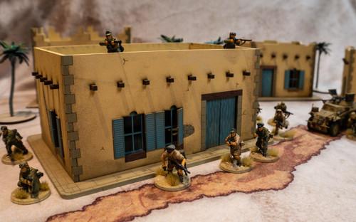 28mm Middle Eastern Building - 28MMDF092