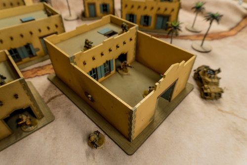 28mm Middle Eastern Building - 28MMDF096
