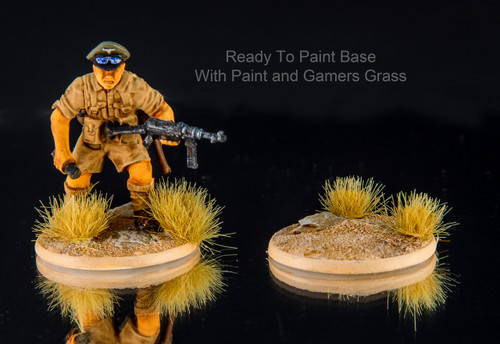 25mm Bolt Action Style  Ready-to-Paint Bases (5/pk)