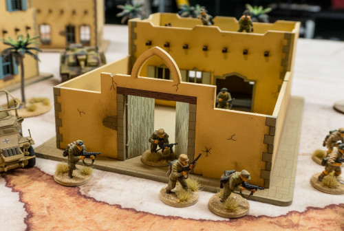 28mm Middle Eastern Building - 28MMDF098