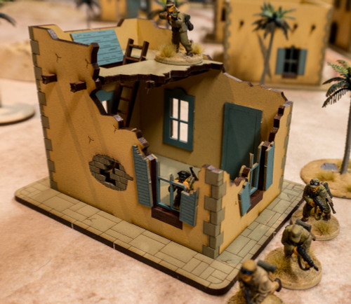 28mm Middle Eastern Building - 28MMDF099