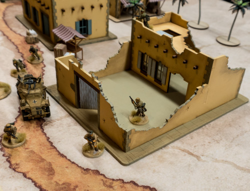 28mm Middle Eastern Building - 28MMDF101